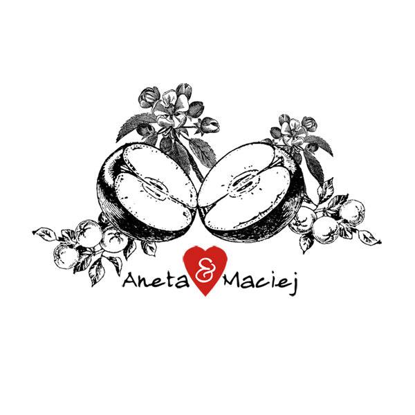 Aneta & Maciej – drugi – zrealizowany projekt zaproszeń