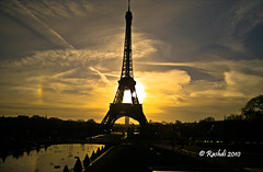 Eiffel Tower by Nokia N8 (Rashdi) Tags: paris france tower silhouette clouds sunrise nokia you photos landmark eiffel n8 rashdi n800 platinumheartaward artistoftheyearlevel3 artistoftheyearlevel4