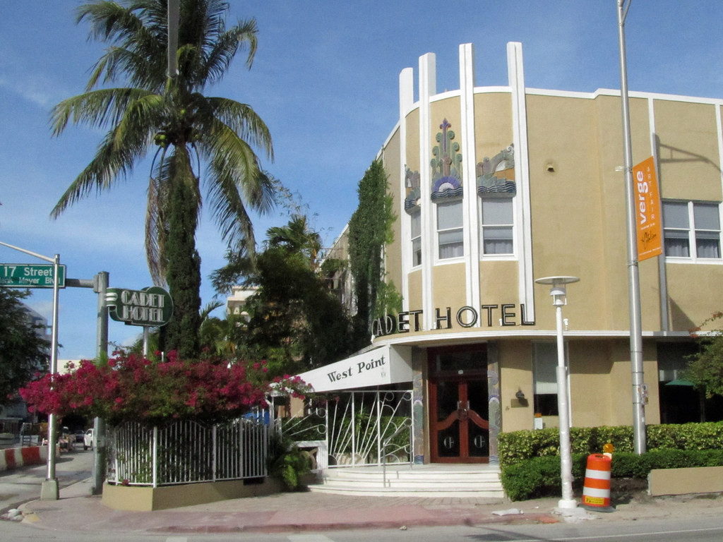 Miami Beach Art Deco Hotel