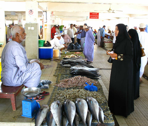 Muttrah Fish Market Oman