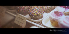 330/365 Good ol' Cupcakes. (Victor Mui) Tags: original food blur guy classic texture canon dessert photography 50mm sweet bokeh good chocolate victor desserts cupcake photograph sweets 5d crumbs f12 mui f12l