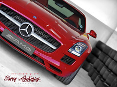 Mercedes-Benz SLS AMG (Tareq Abuhajjaj | Photography & Design) Tags: auto show old red bw moon white black car sport race speed dark photography nice nikon flickr power top side wheels engine fast gear f1 ferrari mercedesbenz saudi arabia carbon nikkor rims riyadh 70200 v8 sls 65 amg supercharged reem  tareq 2011     alreem    d700        foilacar tareqdesigncom tareqmoon tareqdesign  abuhajjaj  abohajja