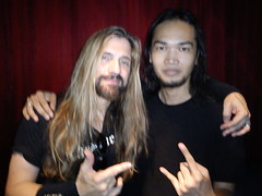 Dede SP w/ James Lomenzo (Megadeth, White Lion, Black Label Society)