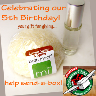 Celebrating mi birthday & holiday special - our gift for giving!
