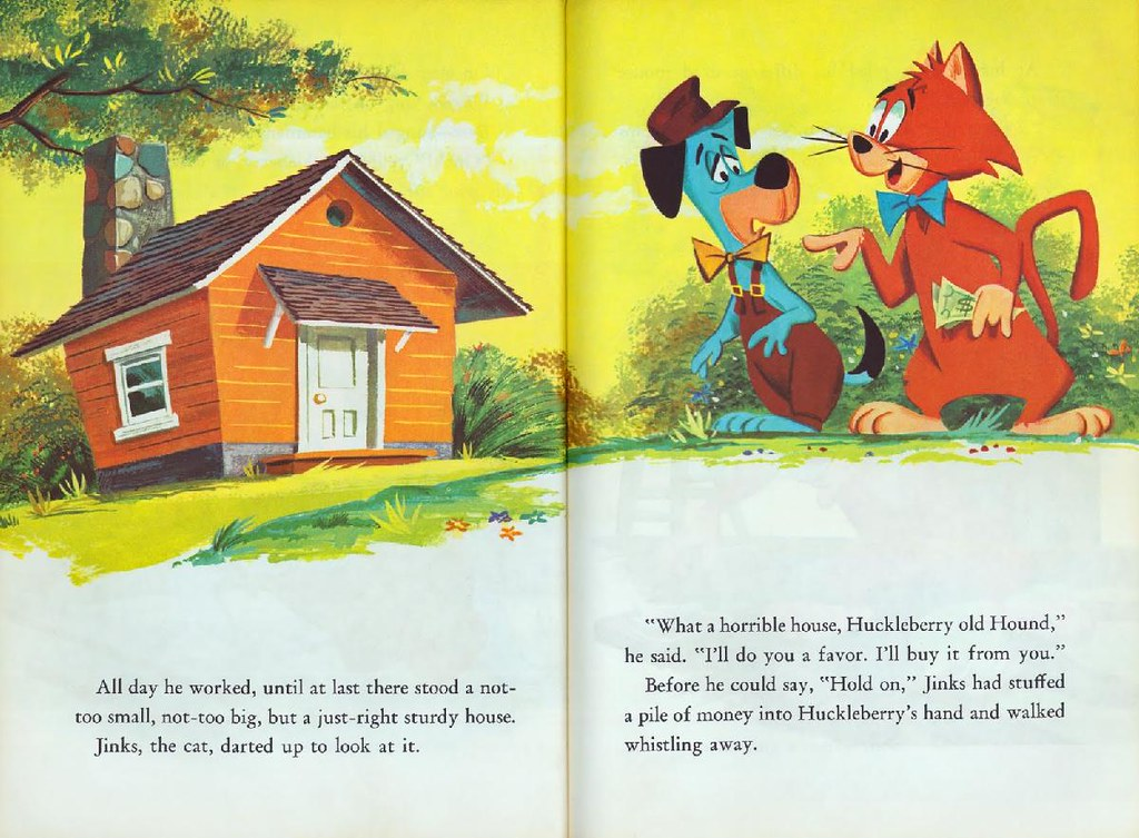 Huckleberry Hound & Yogi Bear005