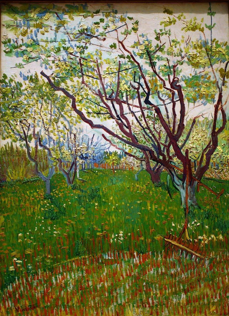 The Flowering Orchard, 1888, Vincent Van Gogh