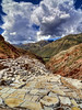 Peruvian Salt Mine (pantha29) Tags: mountains peru landscape hill salt terraces olympus mines andes zuiko saltmine hdr e510 photomatix 1260mm
