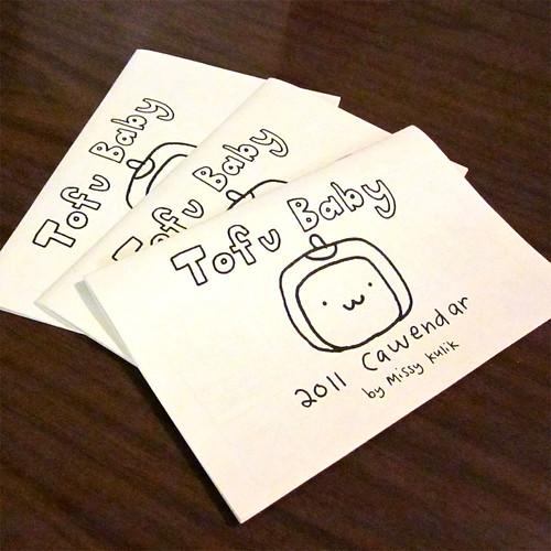 2011 Tofu Baby Calendar 9