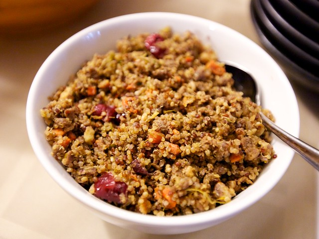 thanksgiving potluck-stuffing
