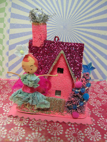 Sugar Pink Fairy House! 7