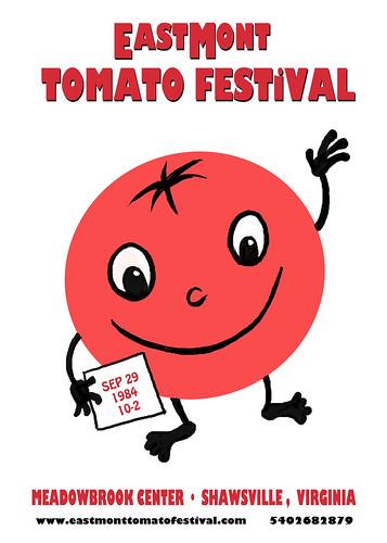 EastMont Tomato Festival poster