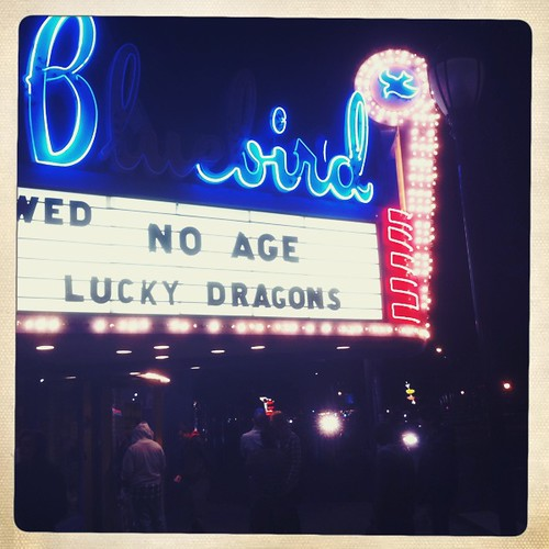 No Age + Lucky Dragons ::: Bluebird Theater ::: 12.01.10