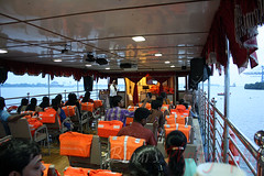 Onboard the Sagararani-II