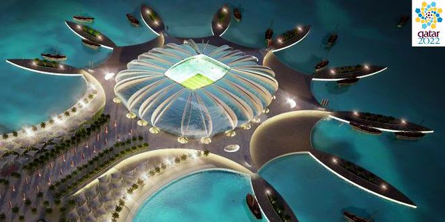 Qatar island stadium 2022 World Cup