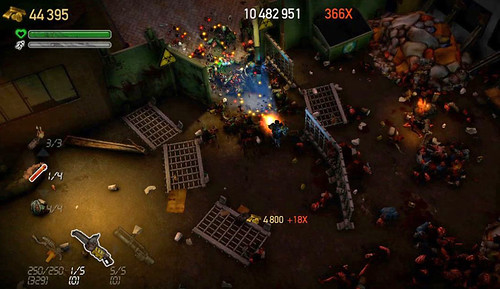 Dead Nation for PS3: Multiplier and cash orbs