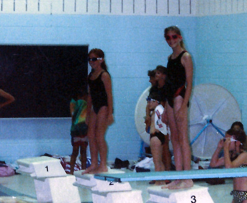 on the Swim Team July 1991