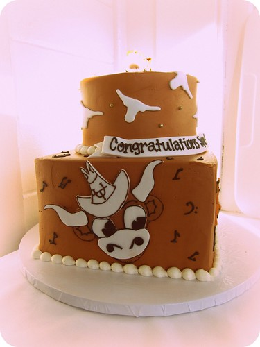 Texas Longhorn Cake Toppers