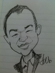 My caricature by Jon Watkins