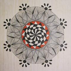 mandala003 (Amaryllis Creations) Tags: mandala penink zentangle