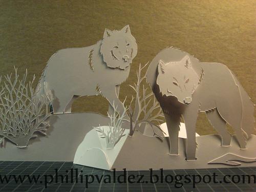 Xmas-Wolves