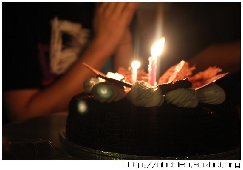 Bear's Birthday Cake
