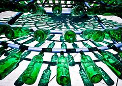 Green (Kaunokainen) Tags: light summer sun reflection verde green art portugal glass opera europa europe estate arte bottles lisboa lisbon capital belem cultural ccb lisbona portogallo bottiglie vetro artexhibition iberianpeninsula riflesso centroculturaldebelm installazione penisolaiberica centroculturale