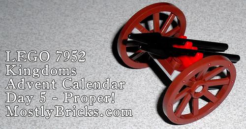 LEGO 7952 Kingdoms Advent Calendar, Day 5