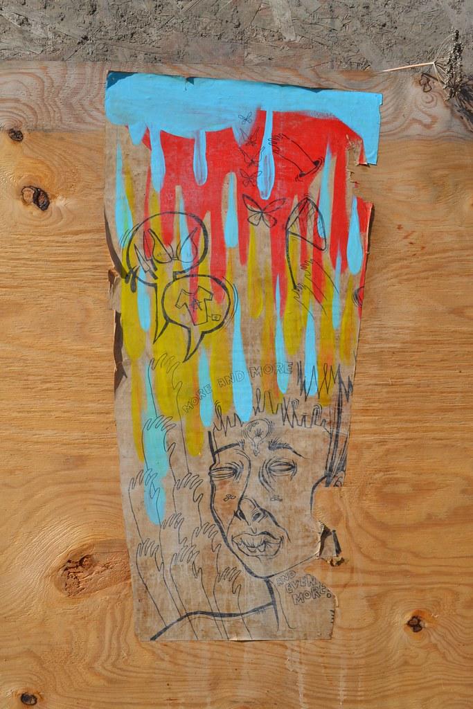 NINA, STM, Oakland, Street Art, Graffiti,