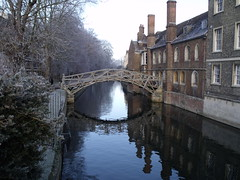 The Mathematical Bridge (cliff and bev) Tags: cambridge