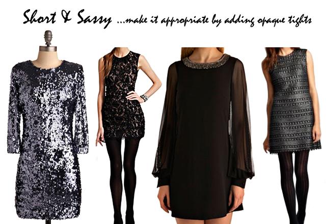 short and sassy holiday dresses