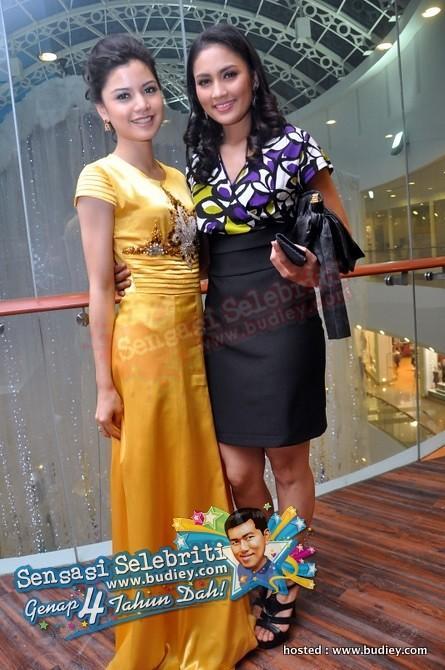 Lisa Surihani & Fasha Sandha
