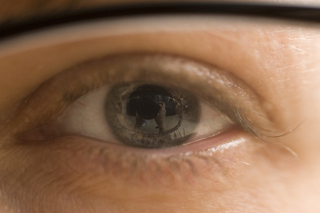 Sleepy Eyeball Reflection