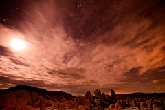 welcome to mars, the red planet (Eric 5D Mark III) Tags: california longexposure sky mars cloud night photoshop canon landscape star nationalpark desert joshuatree fake wideangle fantasy midnight moonlight campground whitetank postprocessing redplanet ef14mmf28liiusm eos5dmarkii