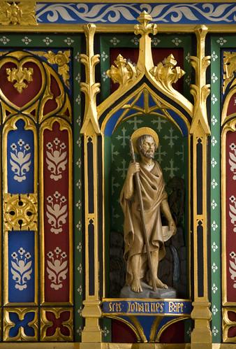 Photo of statue of St. John the Baptist