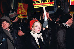 Dail Protest 7.12.10 Pic (24) (Anthony Cronin) Tags: ireland analog superia protest protests  protestors c41 irelanddublin bailout fuji irishlife street photography march crisis 200 dublinlife protest bank irish faces dublinirish protest streetsdublin dublinliving tpastreet dublinirelandnikonf8050mmf14d24mmf28danthonycroninanalogapug35mmfilmallrightsreservedirishphotographystreetsdublinstreetphotographystreetsofdublin antigovernment antieu antiimf irelands bailout 71210budget2010 photangoirl
