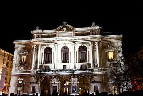 Théâtre des Célestins, Lyon, Fête des Lumières 2010