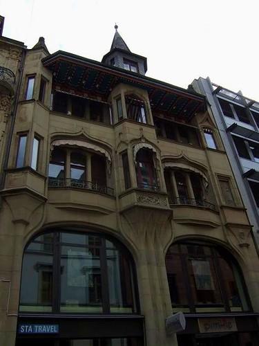 shopping street Freie Strasse, Basel