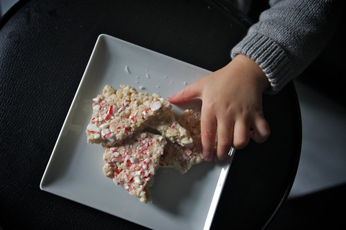 peppermint bark bandit!