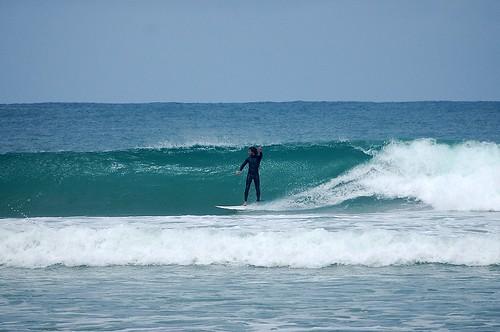 Sky surfing Porpoise Bay