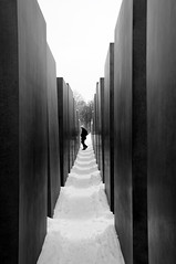||||  |||| (...storrao...) Tags: blackandwhite bw berlin germany deutschland holocaust nikon memorial pb mitte pretoebranco modernarchitecture petereisenman d90 holocaustmahnmalberlin denkmalfrdieermordetenjudeneuropas storrao sofiatorro nikond90bw