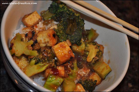 Gluten Free Tofu & Broccoli Stir Fry Recipe