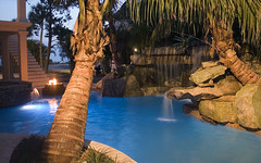 #6 Swimming Pool with Underwater Lighting (lucas congdon) Tags: lighting water pool stone swimming design waterfall underwater natural outdoor top lucas ten grotto features spa lagoons