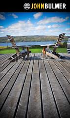 Adirondack Deck Chairs (john bulmer) Tags: vineyard deck ithaca fingerlakes adirondack chiars johnbulmerphotography
