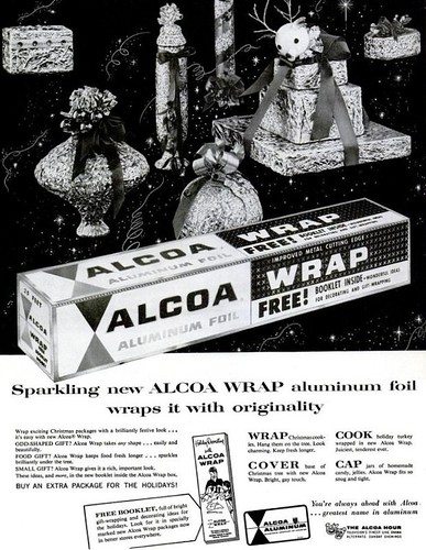 Alcoa Tin Foil Christmas Life Dec 3 1956
