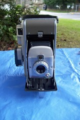 Polaroid Highlander Model 80A - with Light Meter (faithapatton) Tags: camera vintage polaroid highlander retro lightmeter landcamera ohthanks