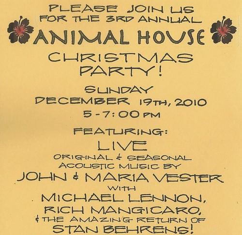 Animal House XMas