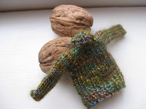 Glitzy mini-sweater