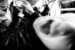 Super Subway Angst (Rachel Citron) Tags: newyorkcity brooklyn night drunk mta ltrain nightlife nycsubway davidmiller zaksos