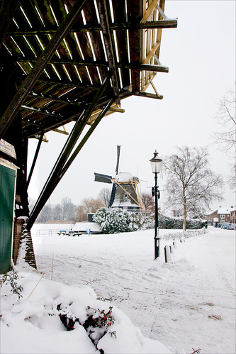 Winter in Weesp