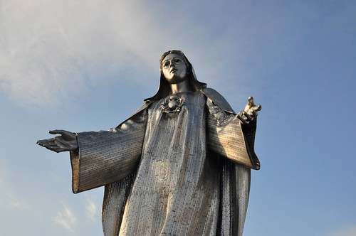 Very Big Mother Mary Statue
